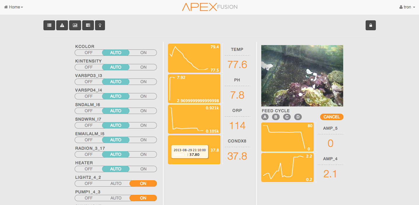 Apex Fusion Dashboard