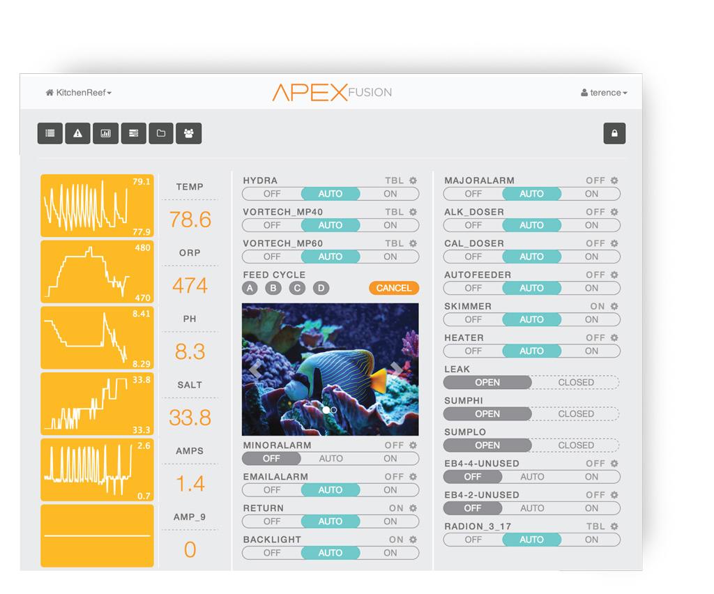neptune systems aquarium controllers aquarium monitoring and