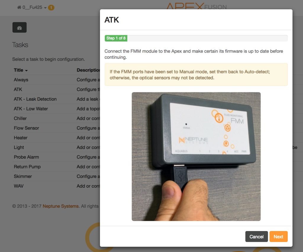 Apex Atk Automatic Top Off Kit Korallen No